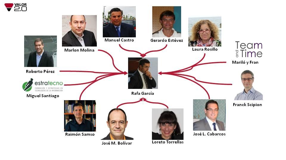 Franck Scipion, José Miguel Bolívar, Marlon Molina, Laura Rosillo y otros