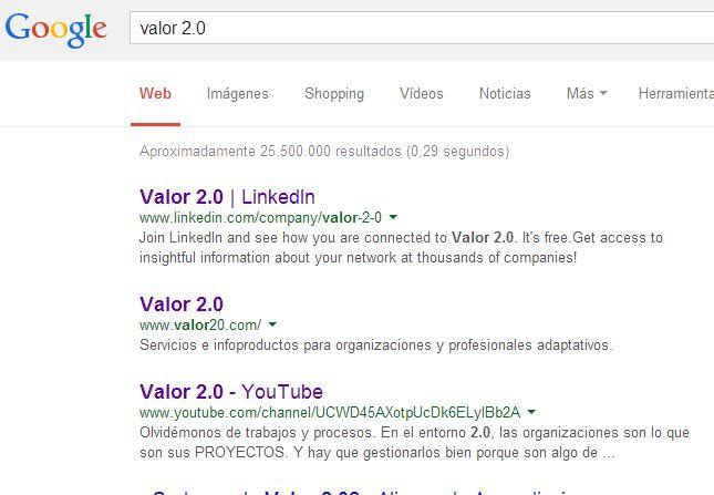 SERP de Valor 2.0