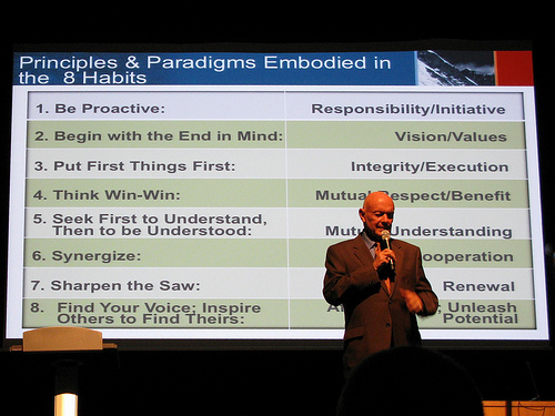 Stephen Covey 2010
