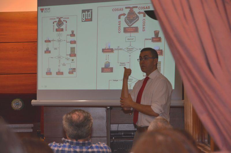 Jornada de productividad despacho de abogados en Colegio Abogados de A Coruña. GTD