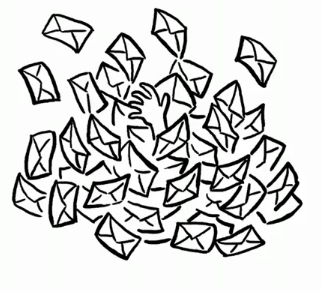 Enterrado en email