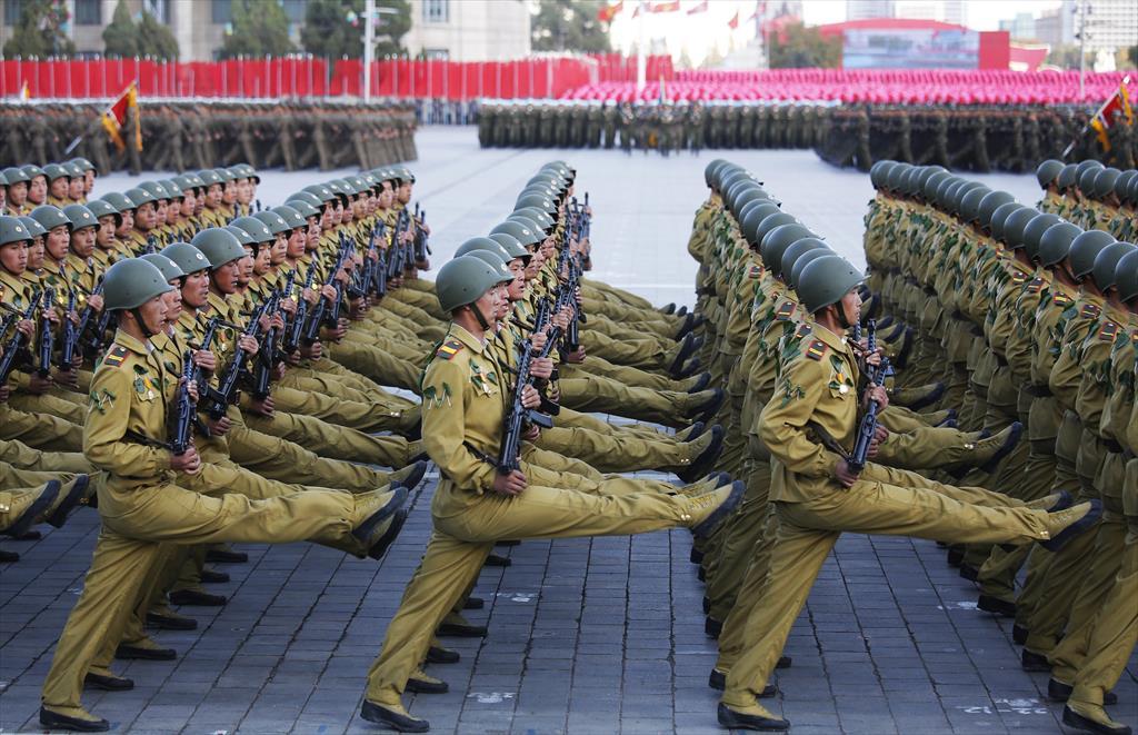 Formación militar. Uniformidad