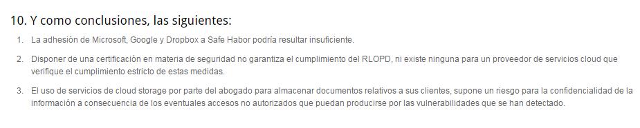 Herr Conclusiones Ribas Casademont